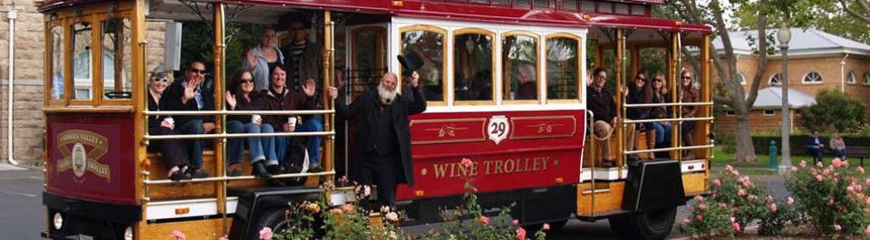 sonoma valley wine trolley 1