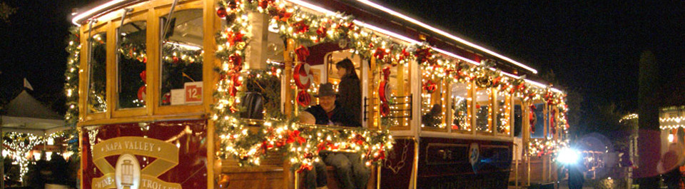 Holiday Wine Trolley Tours | Holiday Light Tours